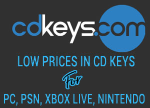 Cheap CD Keys, low prices from cdkeys.com