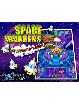 Space Invaders '95 Attack of the Lunar Loonies